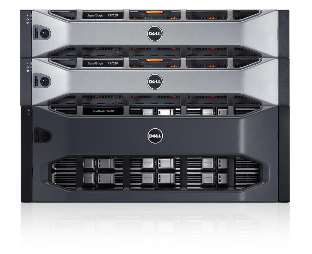 The Dell difference Ease of use Integrated tools for centralized monitoring and management Scale-out capacity and performance with automated tiering and workload balancing Strategic integration with