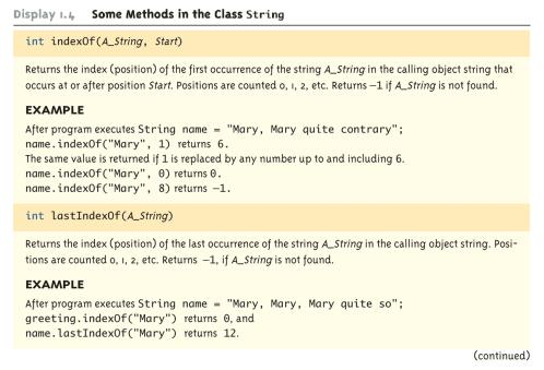 Class String (Part 6 of