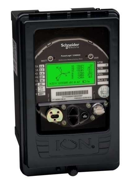 PowerLogic ION8600 energy and power quality meter Advanced, utility-grade meter with ANSI Class 0.