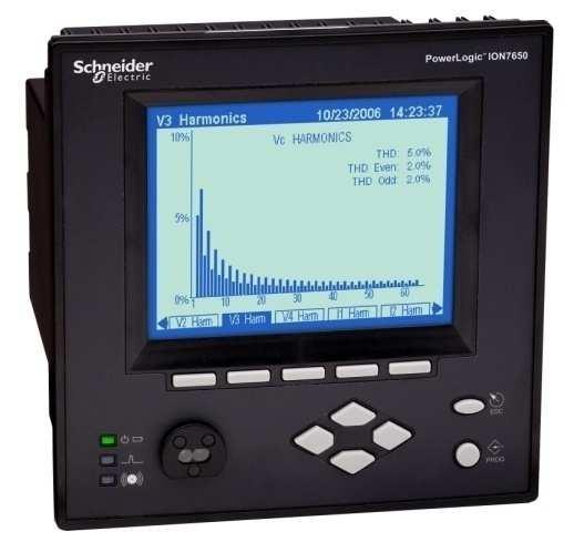 PowerLogic ION7550/ION7650 power and energy meters Advanced, high visibility meters with Class 0.