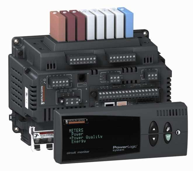 PowerLogic CM4000 series power and energy meters High-performance digital instrumentation with data acquisition and control capabilities, email on alarm, and an embedded web server Up to 64 MB