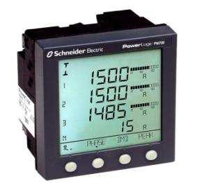 PowerLogic PM700 series power and energy meters Cost-effective, compact meter for basic measurements, communications, THD, digital I/O and alarms Easy and cost-effective to install Four models offer