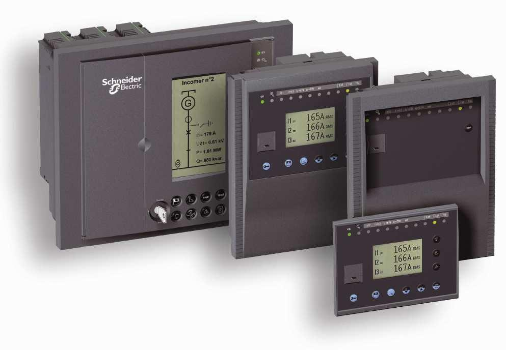 Sepam protective relays Compact, easily installed digital protective relays for various voltage levels in utility substations, industrial and