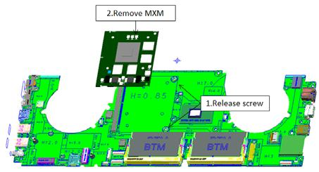 Divide MB assy(remove Ram)