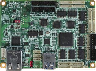 "BIO-ST02-C14-D32 2.5"" BIO Daughter Board with 14 COM, 32bit DIO, LAN and USB 3."