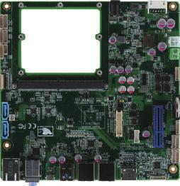 09 SMARC Carrier Board ECB-960T SMARC Carrier Board for x86 Solutions USB 2.0 Client USB 2.