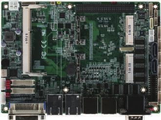02 EPIC Boards EPIC-CV07 EPIC Board with Onboard Intel Atom D2550/N2600 Processor +12V DC LVDS x 2 SYS Fan Backlight Inverter x 2 Front Panel DVI (Optional) DDR3 SATA Power PCI-104 msata Mini-Card