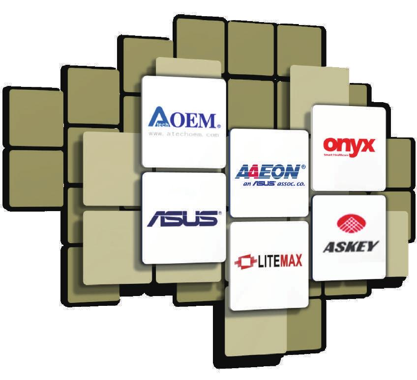 Operation Strength A member of the ASUS Group: A strong high-tech conglomerate ASUS Technology and Financing AAEON Design Flexibility and Domain