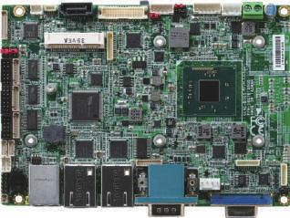 03 SubCompact Boards GENE-BT05 3.5 SubCompact Board with Intel Atom and Celeron Processor SoC Parallel Port DIO USB2.0 x 2 COM x 3 Advanced Version USB2.