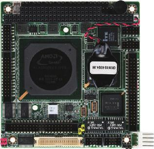 04 PFM-541I PC/104 Modules PC/104 Module with Onboard AMD Geode LX800 Processor CRT Printer Keyboard & Mouse PC/104 USB 44-pin IDE Features Onboard AMD Geode LX800 Processor AMD Geode LX800 + CS5536