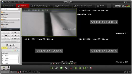To view the captured pictures: Click on the small window of the pictures showed on the right bottom after capture.