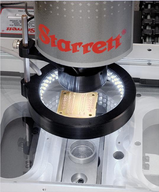 Solutions, Not Products Starrett Metrology Systems can be configured with a comprehensive range