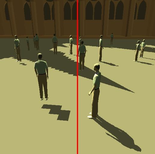 SHADOW MAP RESOLUTION HOW MANY POINTS ARE STORED IN THE 2D SHADOW MAP
