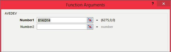 The Average Function If you are not sure how to write a formula or use a function, you can use the Function Library to give you step by step help.