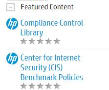 2. Click on the Download button for the required Content Pack: Compliance Control Library Content Packs can be downloaded from: https://hpl