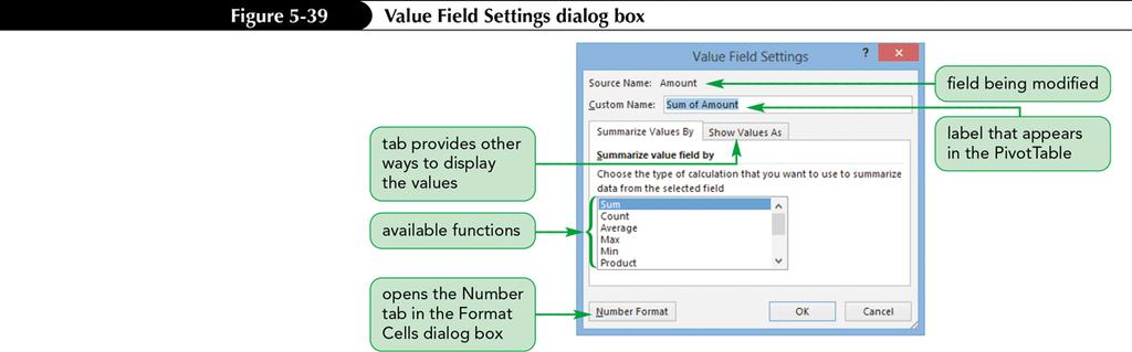 Creating a PivotTable Formatting a PivotTable Quickly format a PivotTable report using one of the