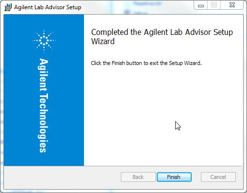Installation Qualification 1 Launch the Agilent Installation Qualification Tool.