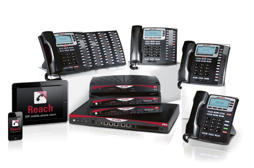 Allworx Family of Products 2011 Award-winning phone systems for