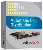 Boost productivity with Allworx software Allworx servers are built to provide additional specific applications without any additional hardware cost or complexity.