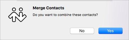 Contacts Editing a contact 2.