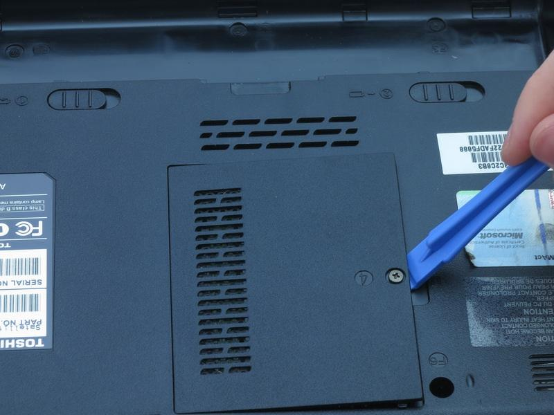 This is a captive panel screw and remains with the cover.