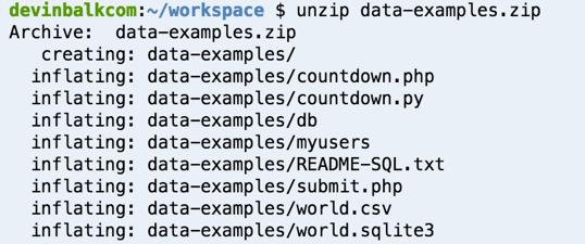 Now go to bash and type the command ls to list files  The