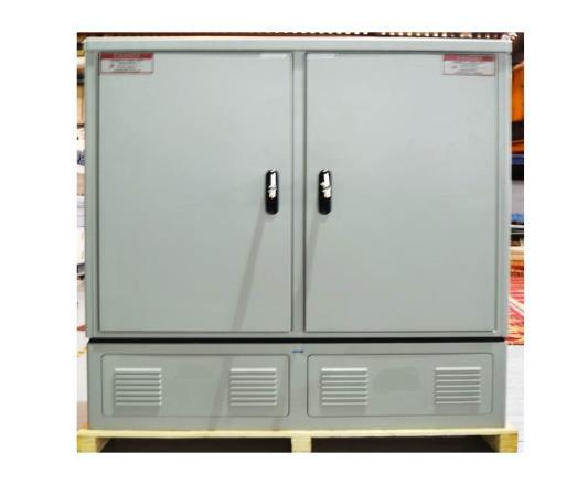 HD- FIBER DISTRIBUTION TERMINAL ( HD-PROMEX- RA ) 768F HD- PROMEX- RA-768 is a High Density Fiber Distribution terminal cabinets enables telecom operators and service providers to maintain and manage