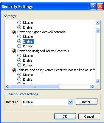 Select Internet Options from the Tools Tab in internet Explorer.