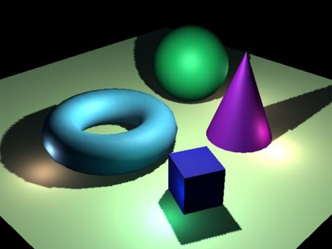 light at the point being lit L si is the specular intensity of the ith light at the point being lit, which is computing using
