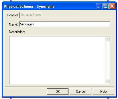 Expand FlexCube->Synonyms select the required Tables for a given module, using control click.