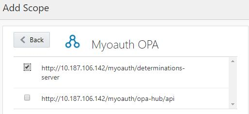 Identity Cloud Service integration Mashup applications Interactive users can also call OPA APIs, in the context of authorized apps No change for non-idcs managed sites Users can call APIs directly,