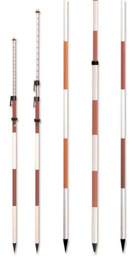 Prism Poles & Range Poles Designed to optimize performance and maximize value Quick Release Prism Poles The clamping mechanism is a pistol grip, quick release type which allows fast setup and
