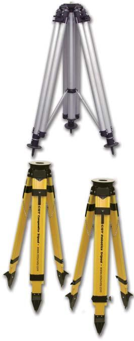 Robotics Accessories Robotics Tripods CST s heavy-duty Robotics Tripod provides a secure base for your automated Total Station.