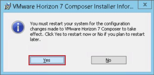 19. On the Installer Completed page, click Finish. Figure A5-18: Finish the Installation Process 20. To finalize the installation, click Yes to reboot the virtual machine.