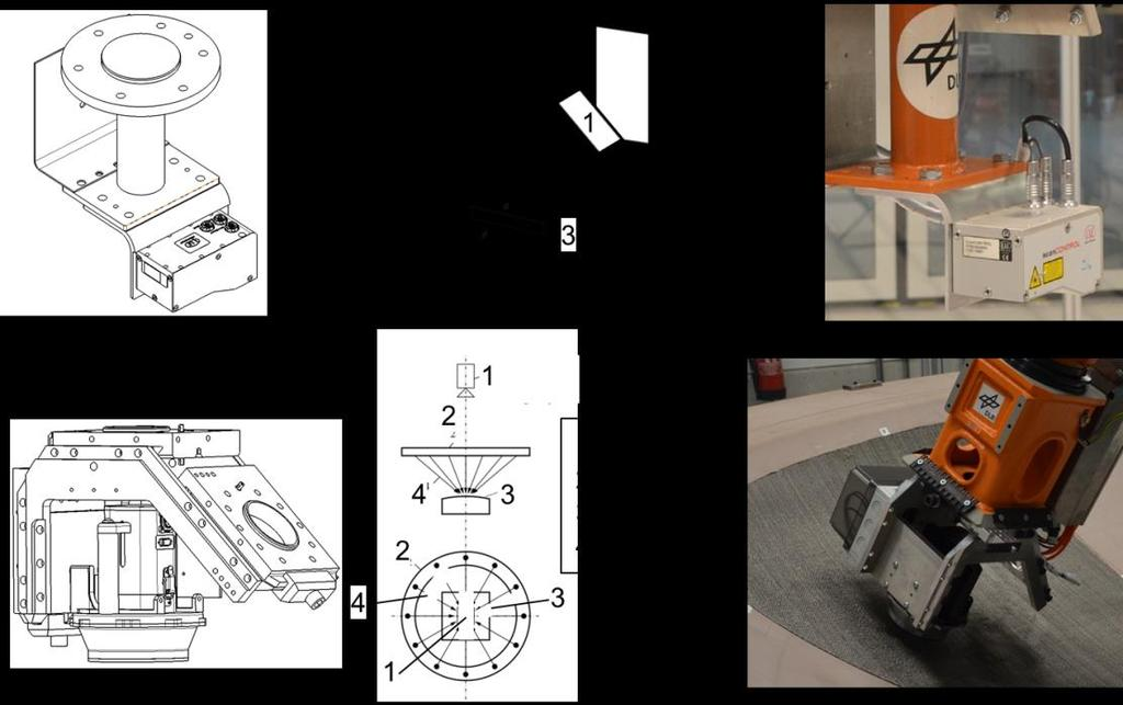 Figure 11: QA devices for cut-piece boundaries Both systems have been integrated into robotic systems, which automatically provide data on absolute position and orientation on the specimen surface