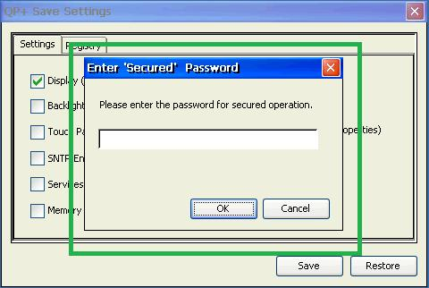 Only on successful authentication, the corresponding operation