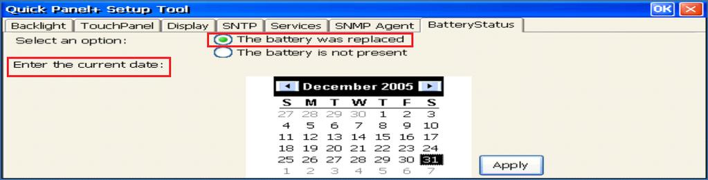 Battery is Not Present Message 5.