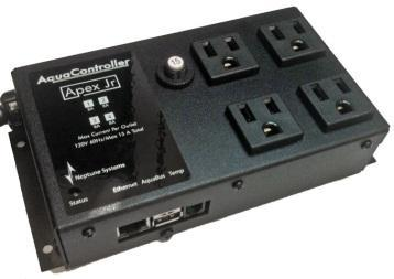 Apex Jr. The Apex Jr. was introduced in May of 2011 and is the entry-level controller of the Apex line. The Jr.