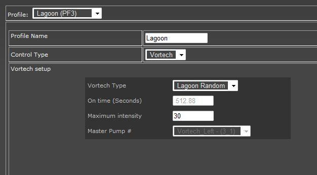 Before you can start referencing these new outlets, you have to establish profiles for the various VorTech pump modes like Constant, Lagoon, ReefCrest, etc.