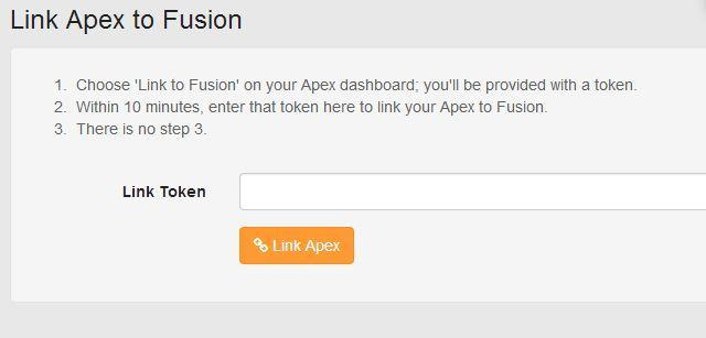 On your Dashboard if you haven t already placed the Apex Fusion tile on your Dashboard, do so now. The Apex Fusion tile will be in your Unused tiles.