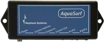 However, unlike the Apex, the AquaSurf module only supports the PUMP function it does not support the RAMP/ dimming function that the Apex does (for more on this, see the section on Variable Speed