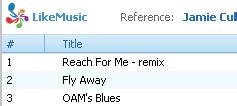 Set the maximum number of songs Save the play queue as a playlist 1 Click Save.