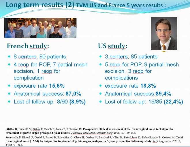 Slide 5: Lng term results (2); abstract f the US