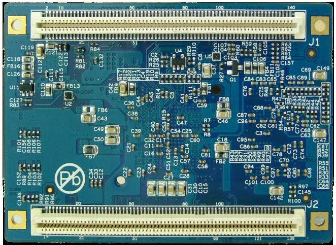 8mm pitch 140-pin Board-to-Board Expansion Connectors - Ready-to-Run Linux 3.15.