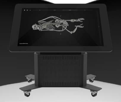 SMART TABLE 55 INSIDE EXPLORER TABLE A 55 complete premium plug and play projective capacitive multi-touch table designed for use in public