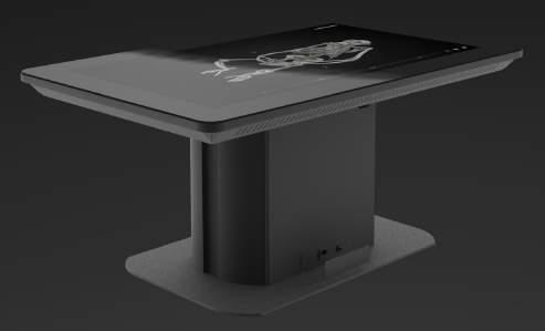 FIXED TABLE 55 INSIDE EXPLORER TABLE A 55 complete premium plug and play projective capacitive multi-touch table designed for