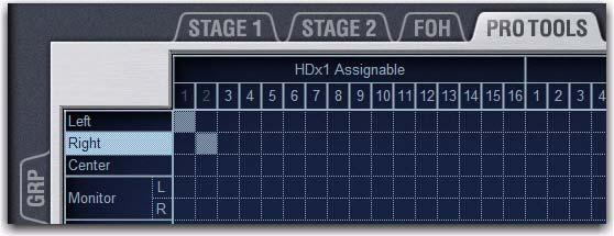 It is possible to use HDx2 inputs even if a second Stage Rack (Stage 2) is not present in the system. A second Snake card must be installed in your FOH Rack. Click Apply.