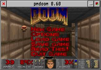 PmDoom Doom port for SDL