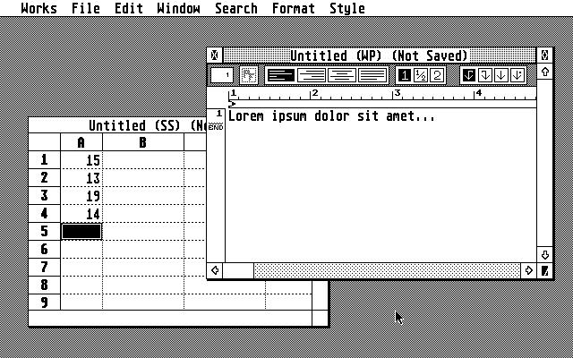 Window-based application Atari Works