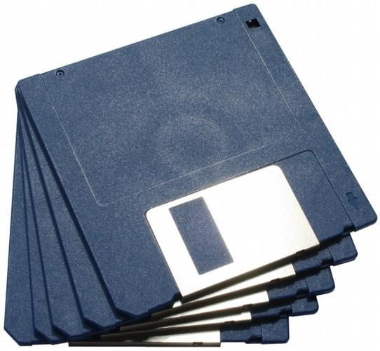Atari ST: Storage 3 ½ floppies, double density